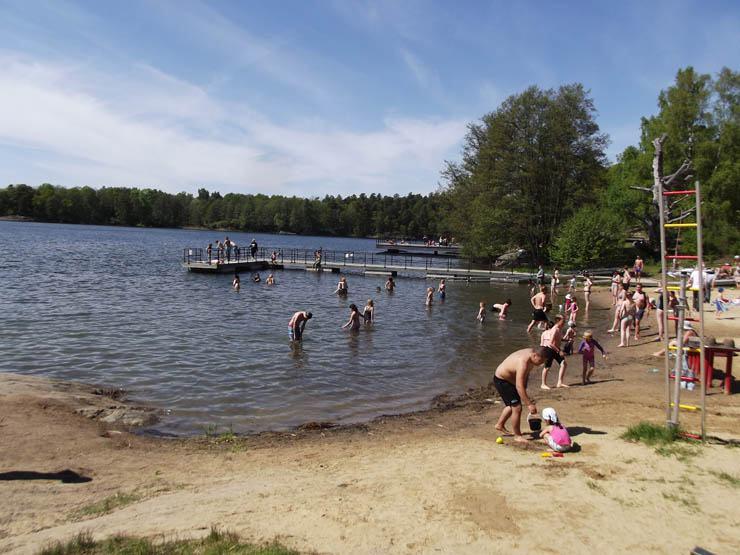 Flatenbadet Allmäna Strand