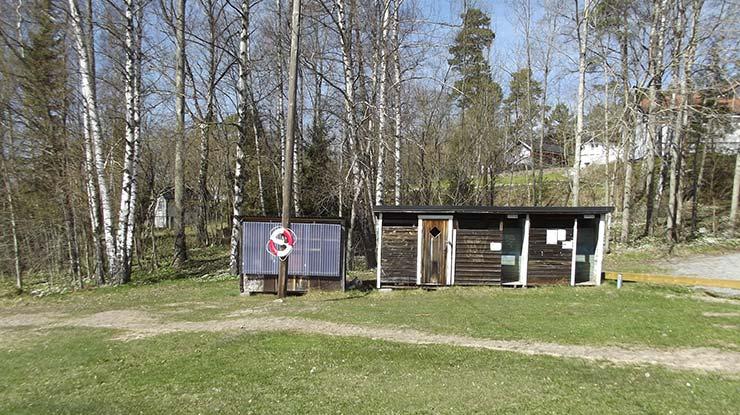 Solö - Kiosk och Omklädningsrum